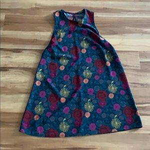 American Apparel baby doll floral dress